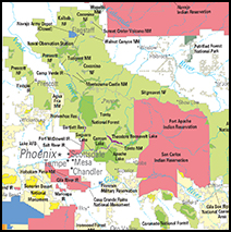 Arizona Federal Lands and Indian Reservations